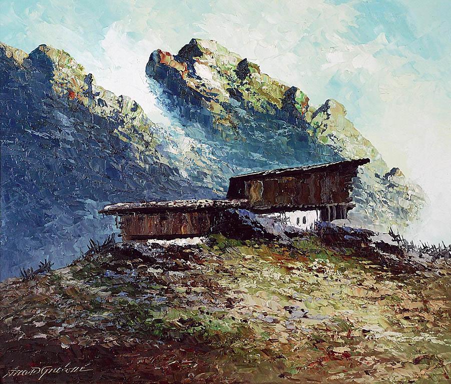 Burza w Alpach