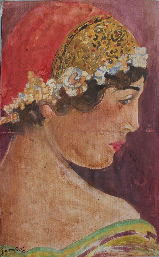 Kobieta w czepku (1932)