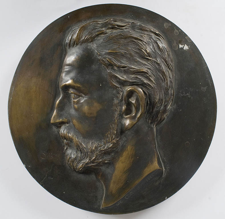 PORTRET MĘŻCZYZNY, 1882