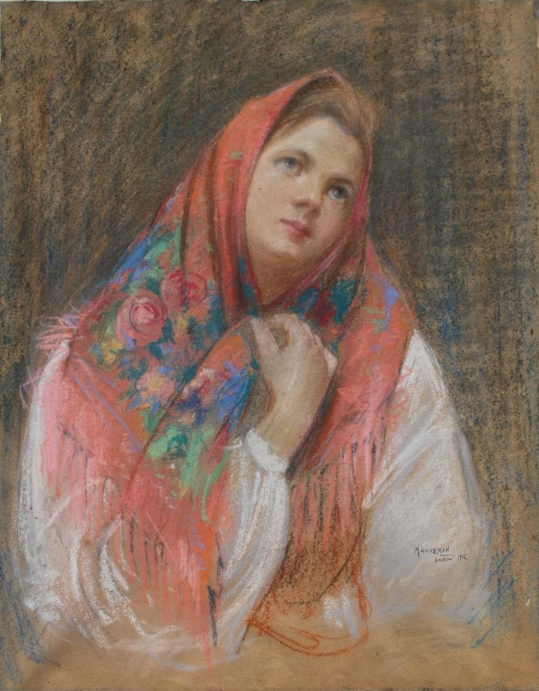 Portret młodej góralki (1912)