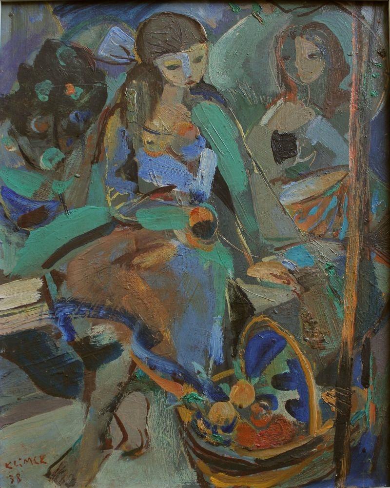 Dziewczyna z koszem (1958)