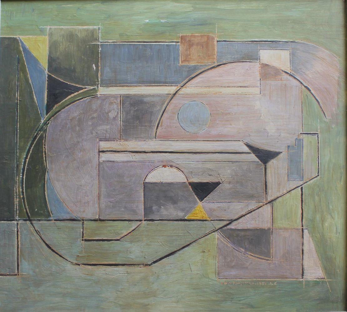 Kompozycja kubistyczna (1951)