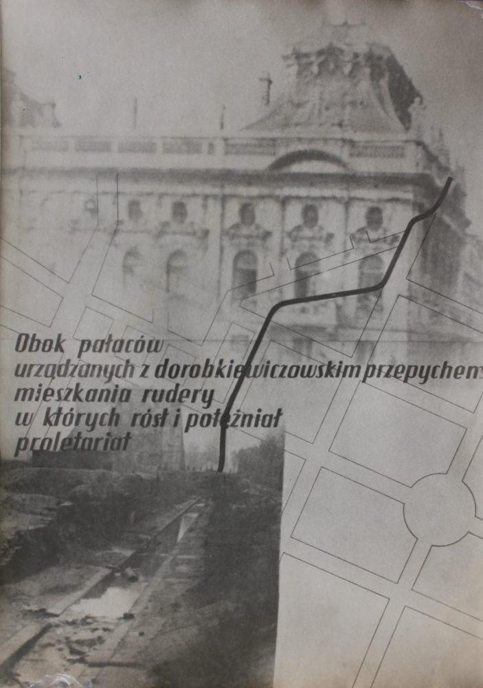 Fotokopia plakatu propagandowego (l.50.XX w.)