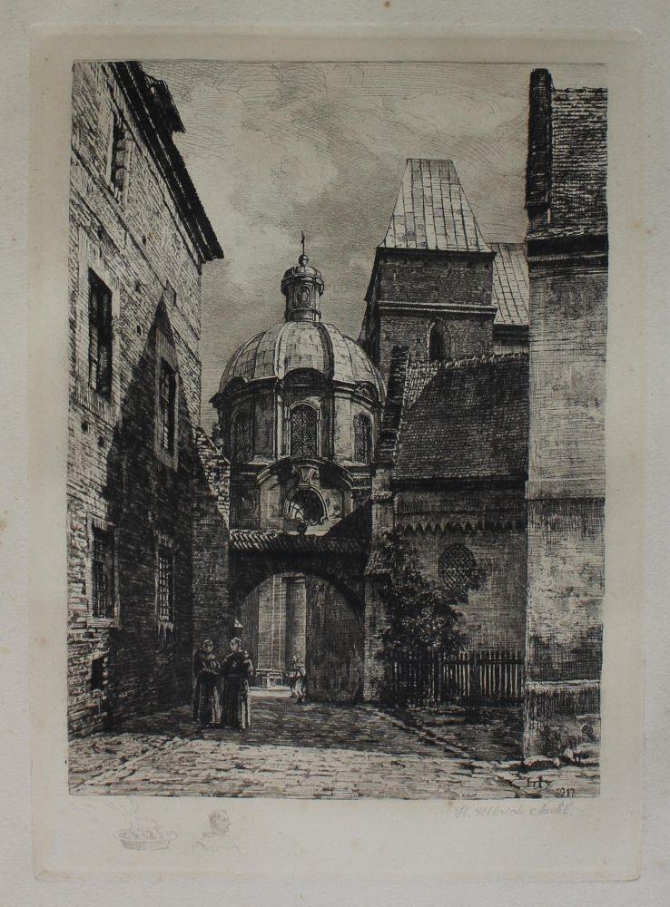 Wrocław. Brama Kluszczana na Ostrowie Tumskim (1917)