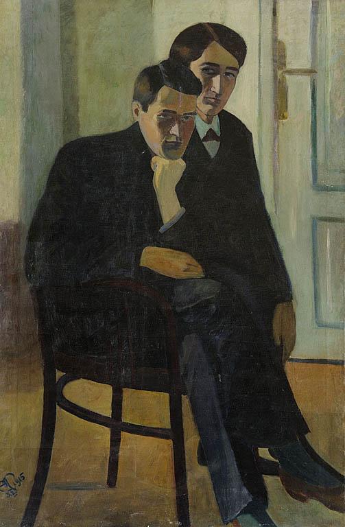 PORTRET PODWÓJNY, 1915
