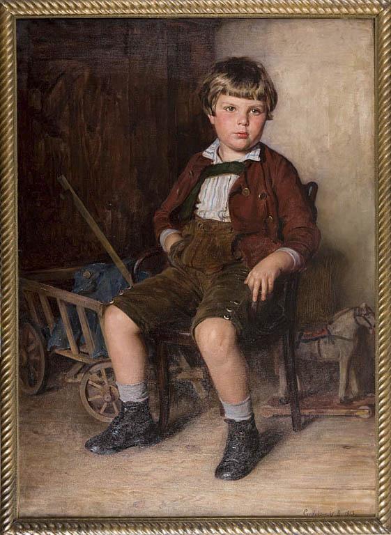 PORTRET OTTONA HARTMANNA, 1913 R.