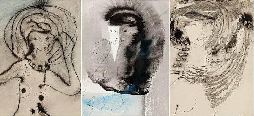 Zestaw 3 portretów - Kobiety