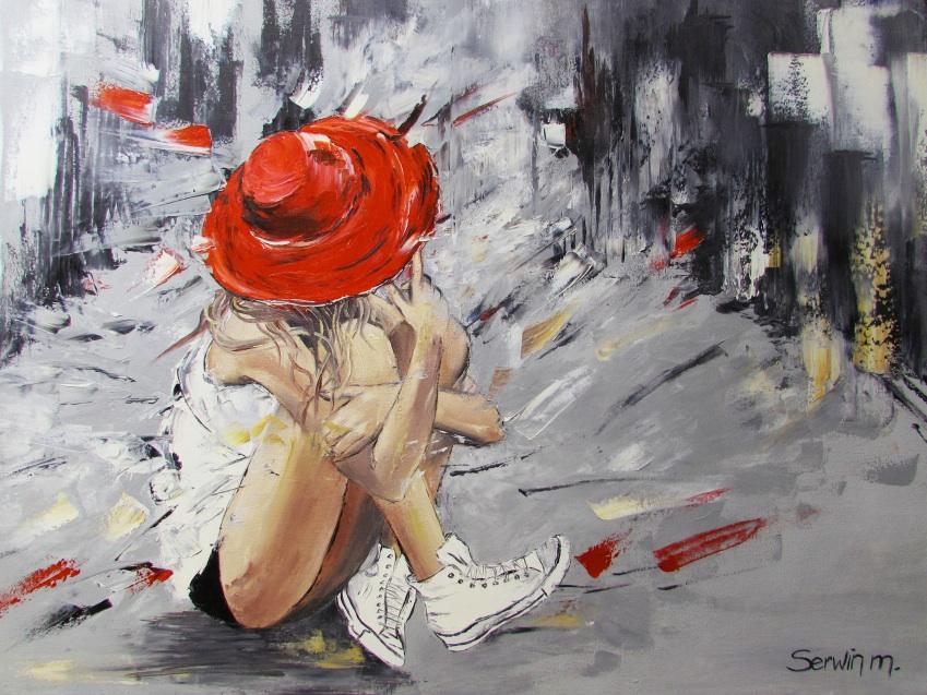 Dziewczyna w kapeluszu, 2016