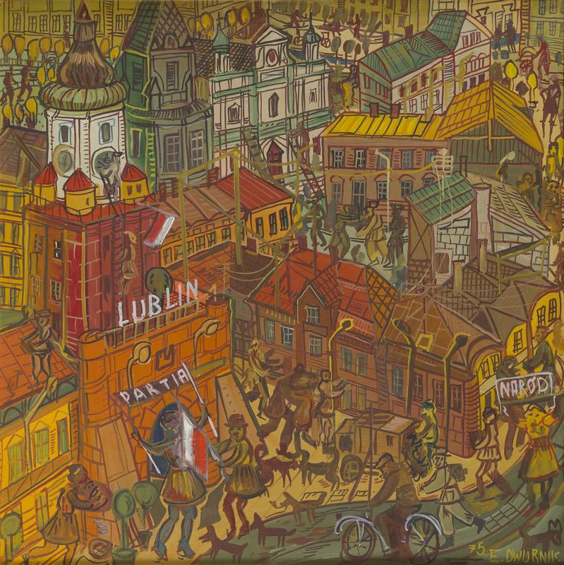 Lublin z cyklu Podróże autostopem, 1975 r.