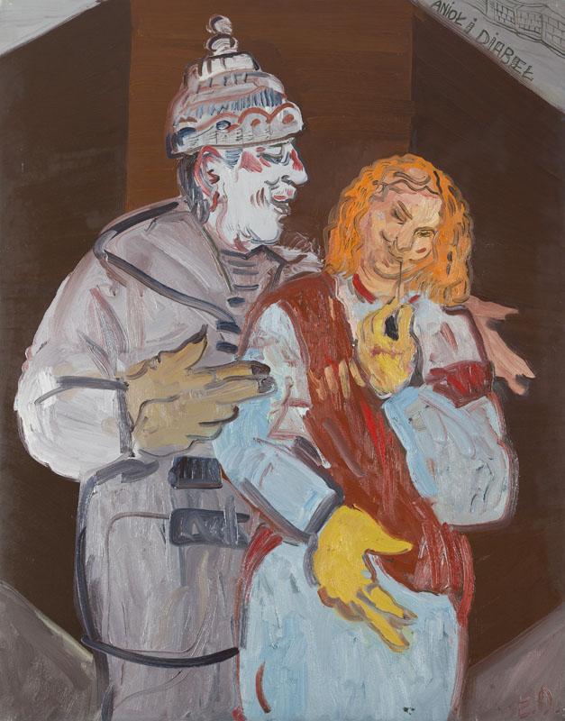 Anioł i diabeł, 1991 r.