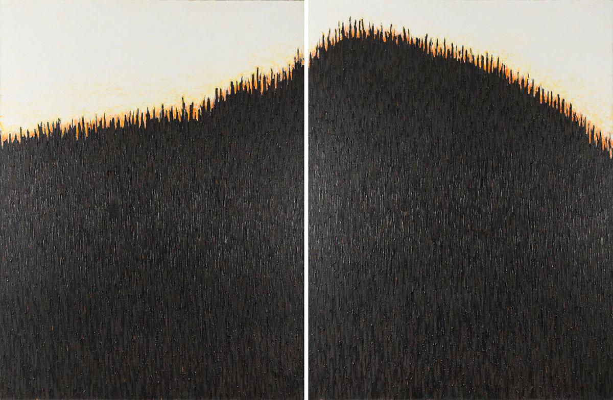Czarne Wzgórze - Dyptyk, 1988 r.