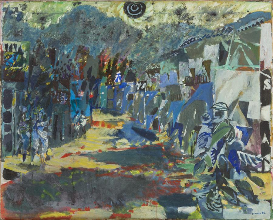 Pejzaż Hiszpański , 1984 r.