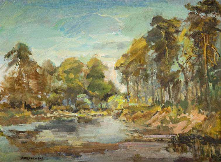 Drzewa nad wodą, 1985 r.