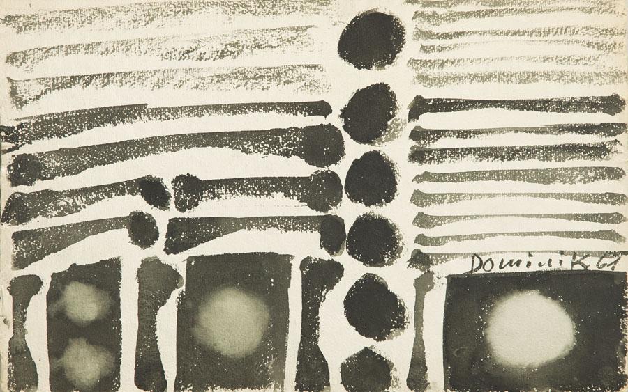 Pejzaż, 1961 r.