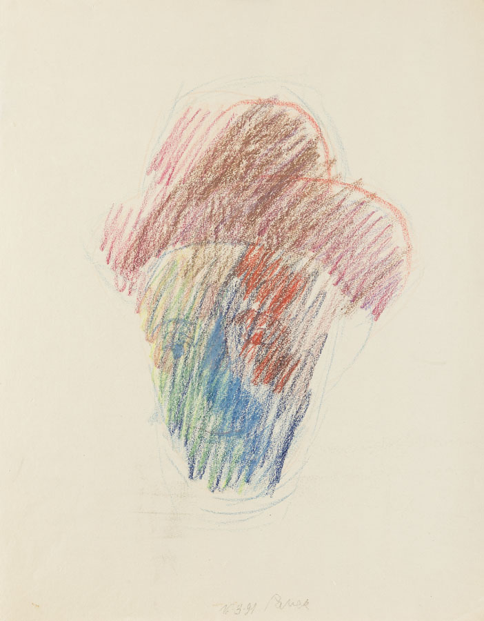 Autoportret w kapeluszu, 1991 r.