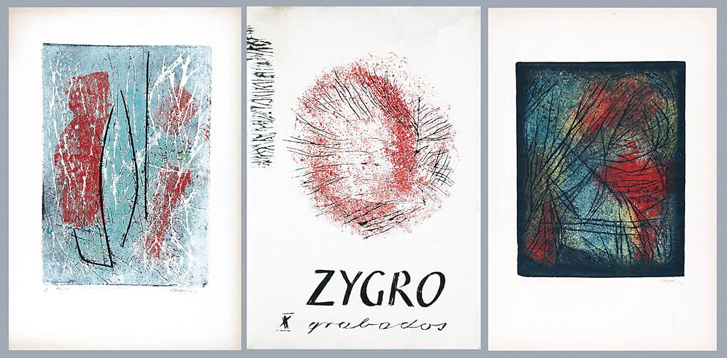Teka grafik X grabados, 1960