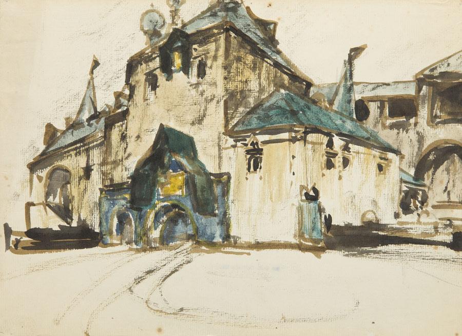 Szkic kościoła
