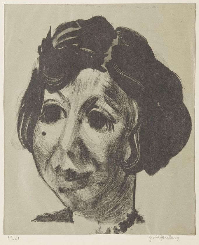 Portret kobiety, 1931 r.