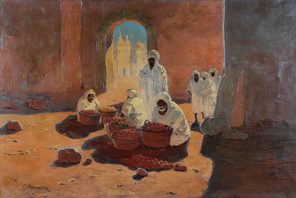Arabski targ
