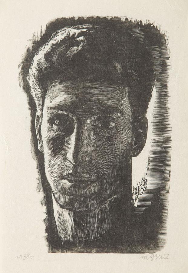 Portret młodzieńca, 1938 r.