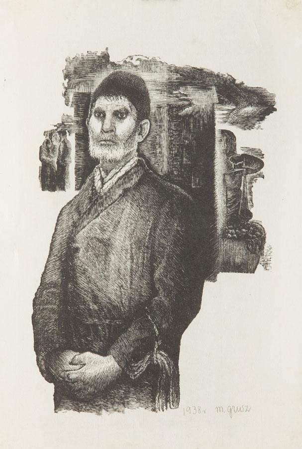 Portret mężczyzny, 1938 r.