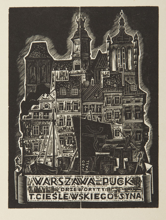 Warszawa - Puck, 1933 r.