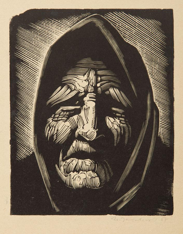 Głowa staruszki, 1957 r.