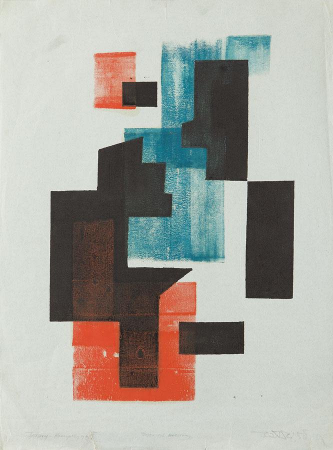 Formy - Kompozycja II, 1958 r.