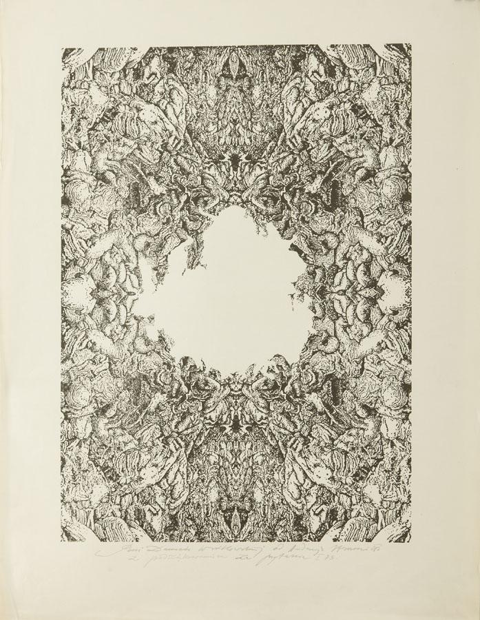 Kompozycja abstrakcyjna, 1973 r.