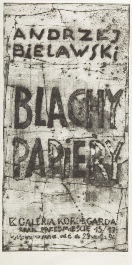 Blachy papiery, 1994 r.