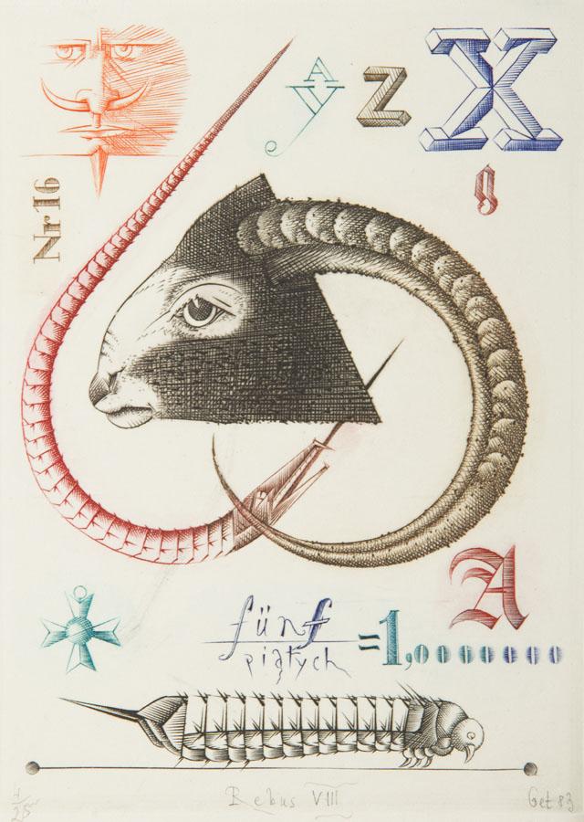 Rebus VIII', 1983 r.