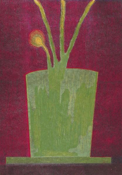 Zielona doniczka