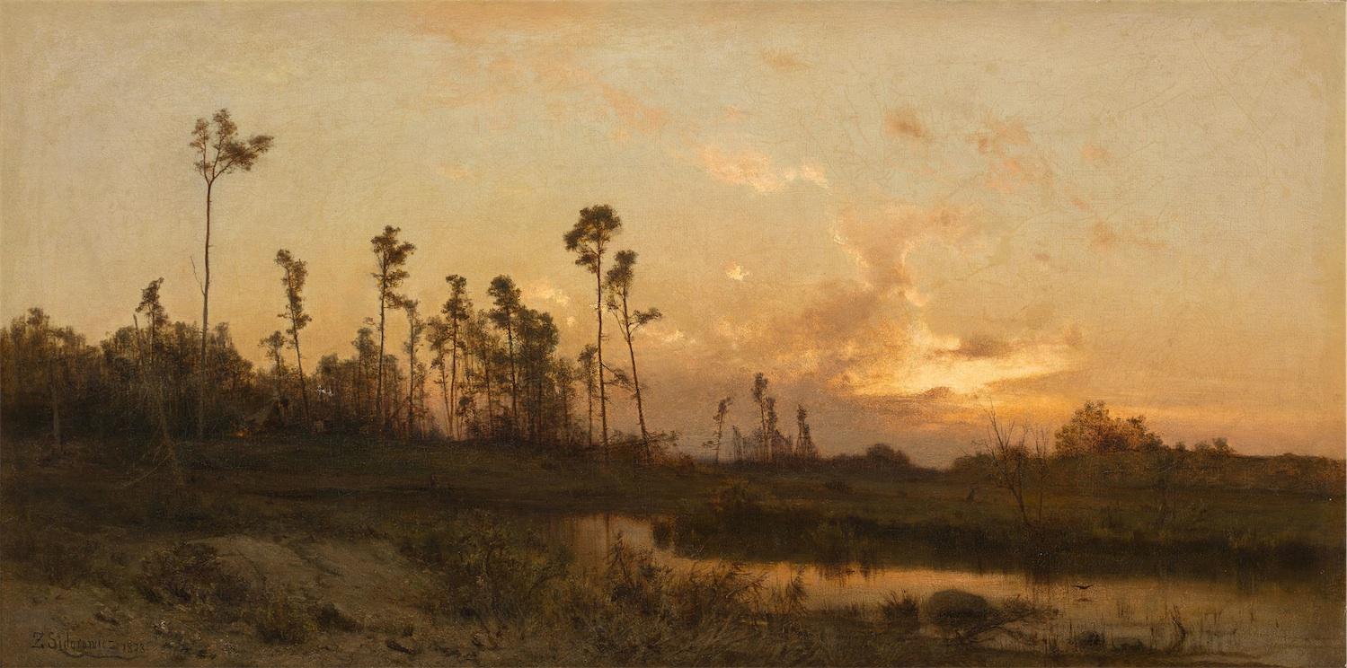 O zachodzie, 1878