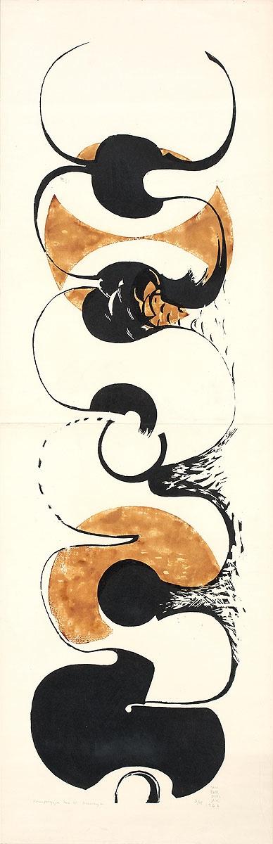 Kompozycja kół VI, 1966