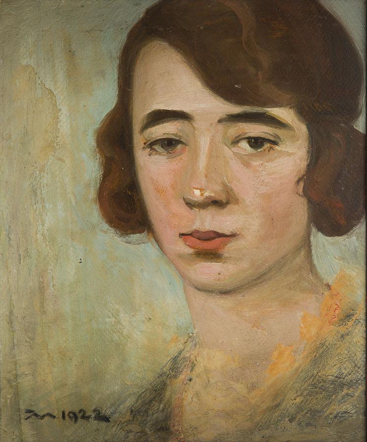 Portret kobiety, 1922 r.