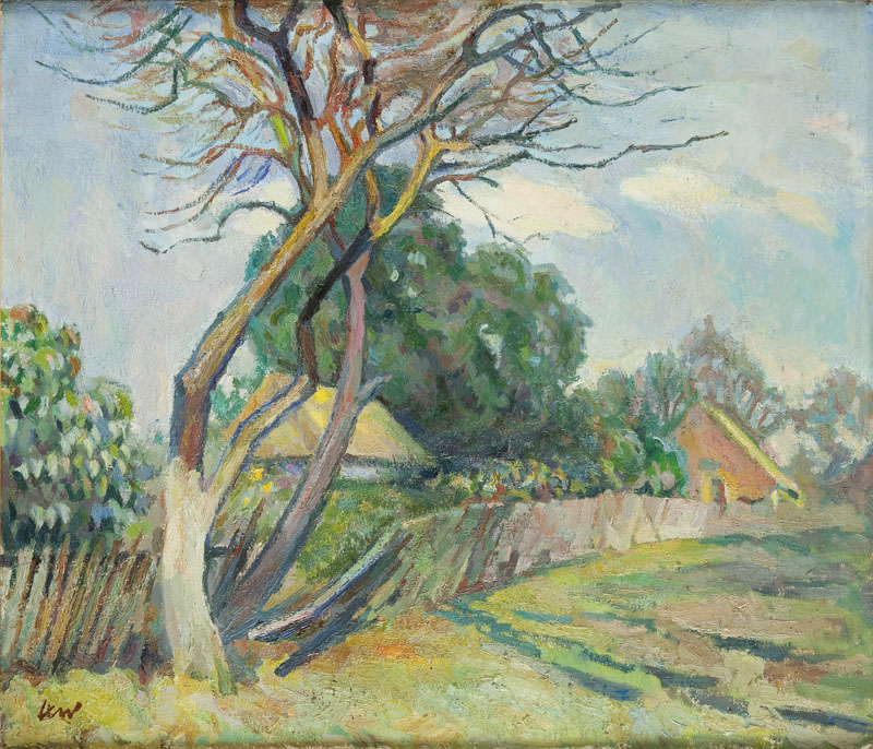 Krajobraz wiosenny, 1962 r.
