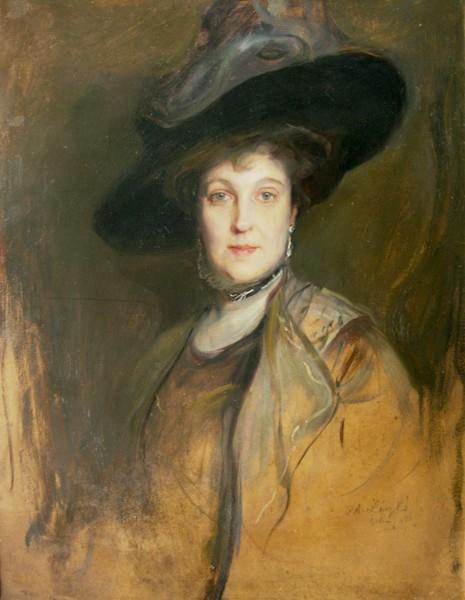 Portret kobiety w kapeluszu (1911)
