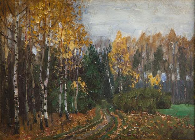 Jesień. Fragment X