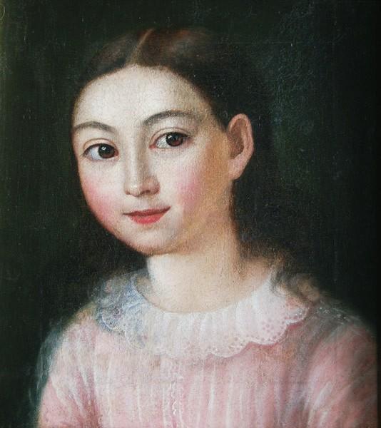 Portret dziewczynki (1854)
