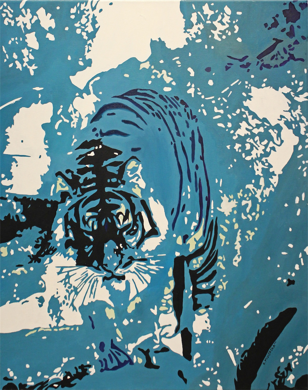 Tygrys w chmurach, 2014 r.