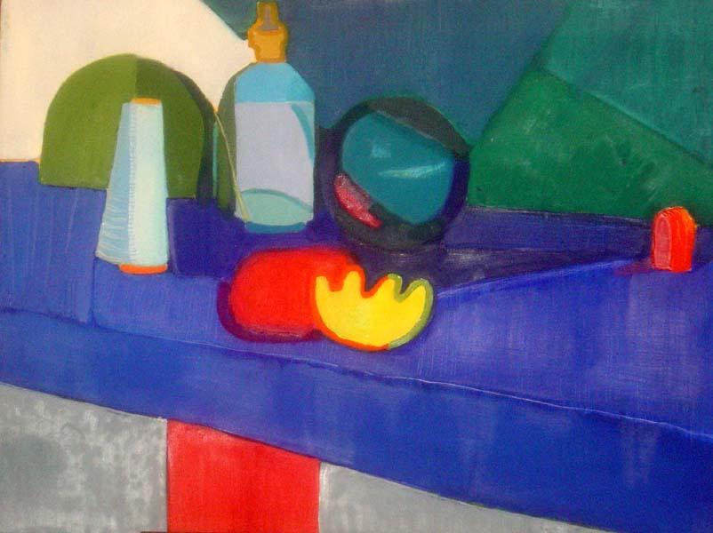 Niebieska martwa natura (2005)