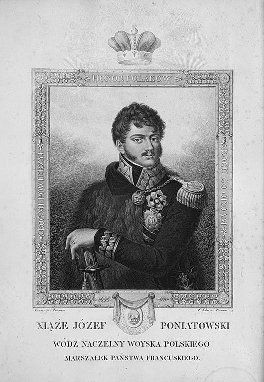 Portret księcia Józefa Poniatowskiego, po 1815