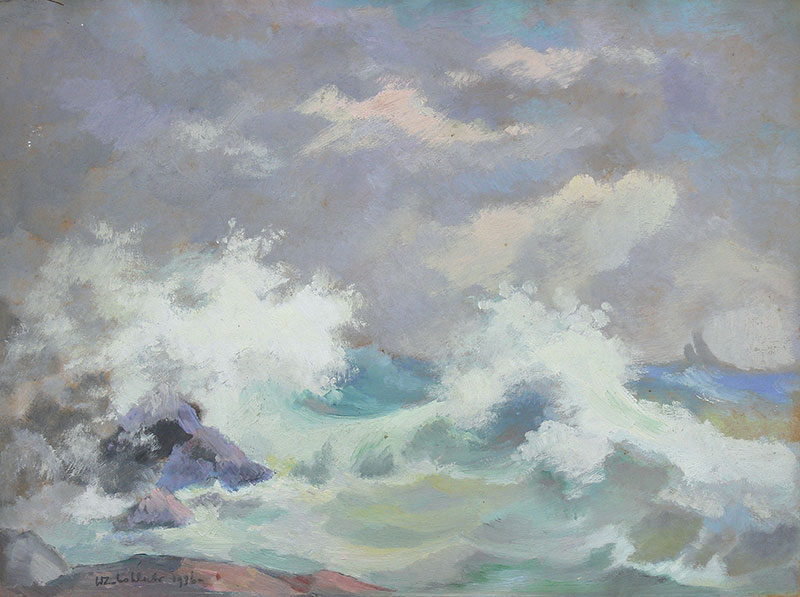 Wzburzone morze, 1926 r.