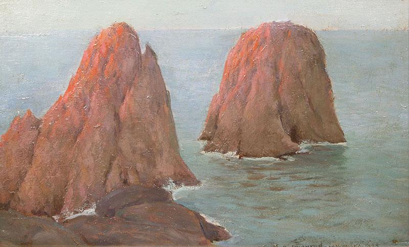 Skały - Capri, 1929 r.