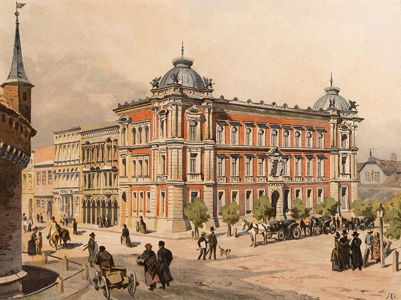 Szkoła Sztuk Pięknych w Krakowie, 1886 r.