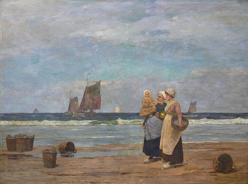 Bretonki na plaży