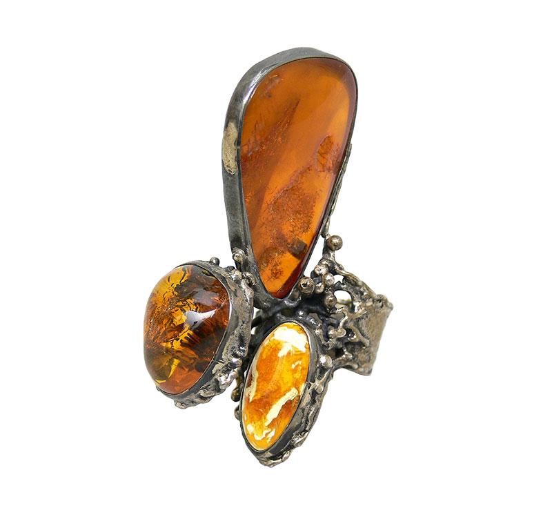 Biżuteria artystyczna - pierścionek