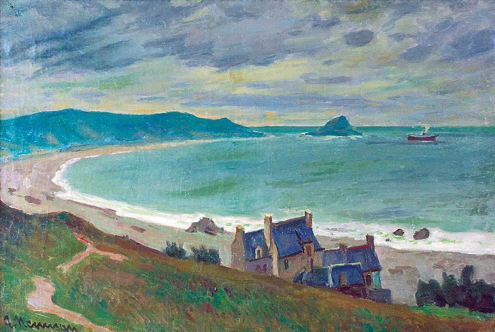 Pejzaż z Bretanii