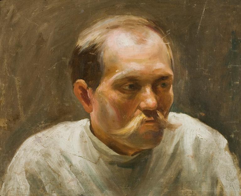 PORTRET CHŁOPA, 1896-1905