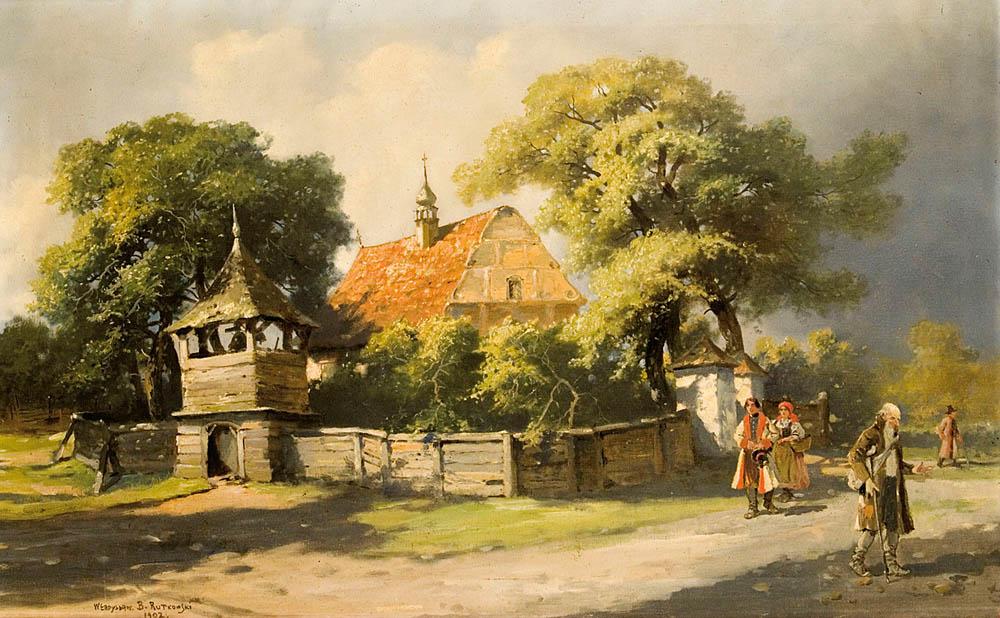 POWRÓT Z KOŚCIOŁA, 1902